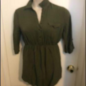 EUC Forever 21 olive dress size large